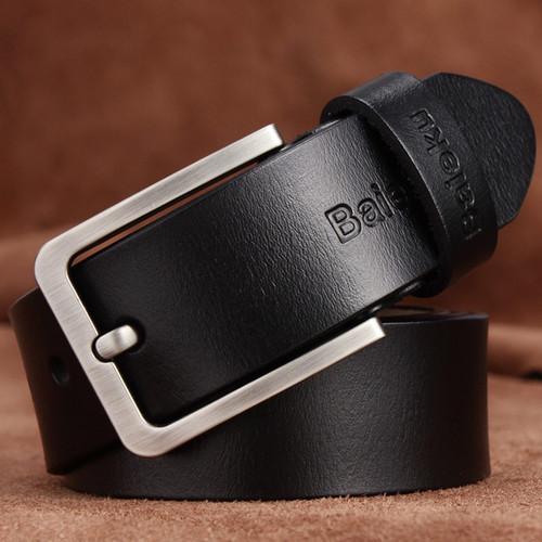 Real cowhide belt's men high quality Pin buckle belts for men and women leisure belt young men belts cummerbunds width of waist