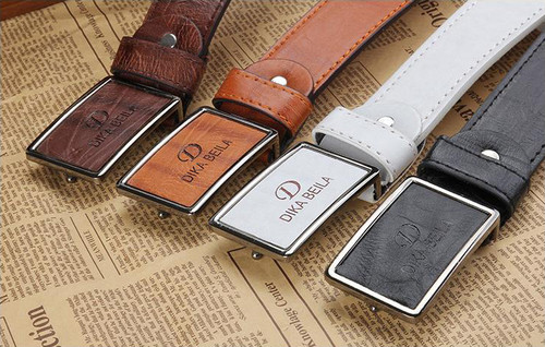 Goebel Man Belts PU Leather Pin Buckle Men Business Belts Fashion Practical Belts For Male High Quality