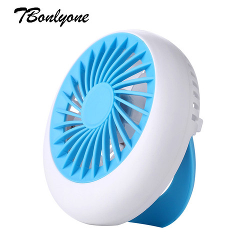 Tbonlyone  1200Mah 3 Speed Strong Wing Umbrella  For Students Office Outdoor Travel Rechargeable Handheld Portable Usb Mini Fan