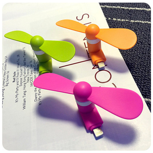 Mini Portable Fan Micro USB Gadget Flexible Fan For Phone Universal Portable Summer For IOS and Android Phone OTG USB Mini Fan