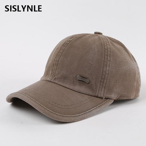 Wash baseball caps cotton snapback spring casquette hat comfortable casual hats baseball cap men casquette homme dad hat cap men