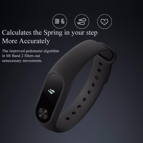 Xiaomi Mi Band 2 Smart Watch Sleep Monitor Heart Rate Smart Bracelet Wristband Miband 2 Fitness Tracker with OLED Miband2 #B5