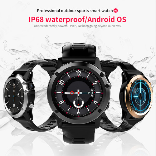 Microwear H1 android 4.4 Smart watch waterproof 1.39inch mtk6572 SmartWatch for android iPhone support 3G wifi GPS SIM GSM WCDMA