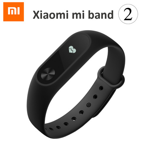 In Stock! New 2016 Original Xiaomi Mi Band 2 MiBand 1S 1A Smart Heart Rate Fitness Wristband Bracelet OLED Christmas Gifts