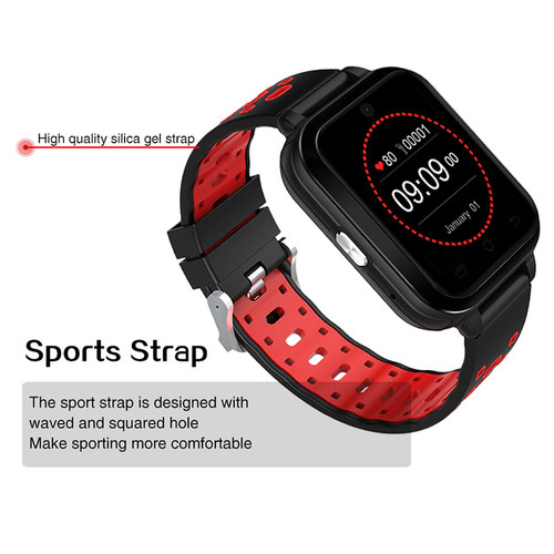 2018 High Quality 1.54 Inch Smart Watch phone MTK6373 4G Android OS support SIM card Bluetooth WIFI GPS Heart Rate Smart watch
