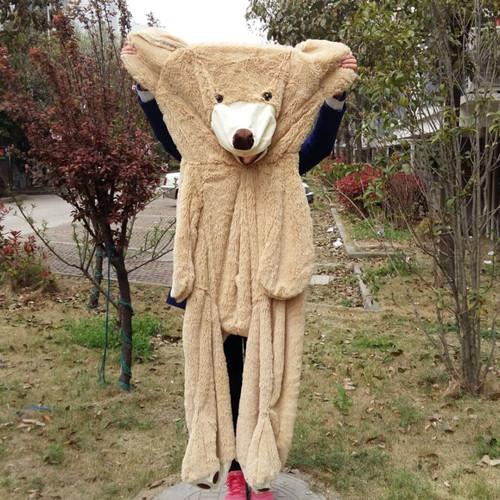 100cm-200cm America Giant Teddy Bear Plush Toys Soft Teddy Bear Skin Popular Birthday & Valentine's Gifts For Girls Kid's Toy