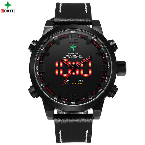 Reloj Hombre Sports Mens Watches Top Brand Luxury Digital-Watch Waterproof Quartz-Watch LED Wristwatch Digital Watch Men Sport
