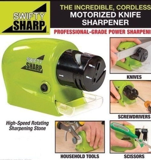 Power Knives Sharpener Swifty Sharpener Precision Scissors Sharp Tool Home Kitchen Electric Grind Machine