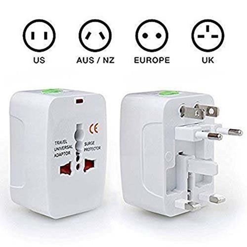 International World Travel Charger Adapter Universal - 6 MONTHS WARRANTY