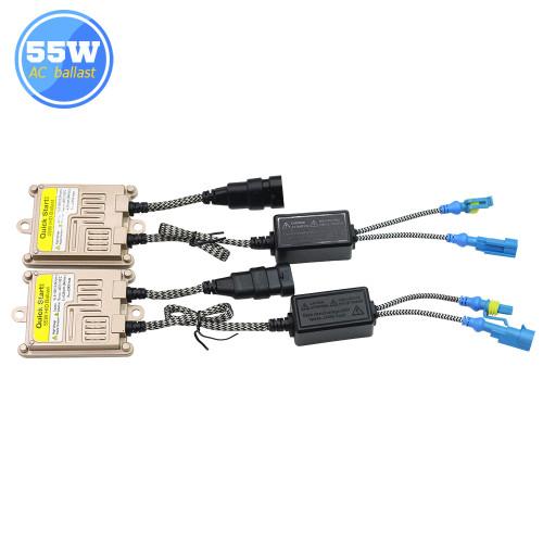 Buildreamen2 H1 H3 H7 H8 H9 H11 880 881 9005 9006 55W HID Xenon Kit AC Ballast Bulb 3000K-8000K Car Light Headlight Headlamp