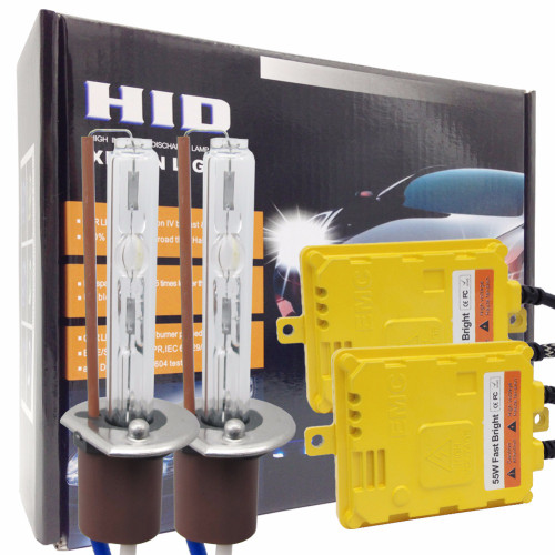 Taochis AC 12v 55W Hid H11 xenon bulbs replace H1 H3 head light kits fast bright H7 9005 9006 with ballast set fog lamp