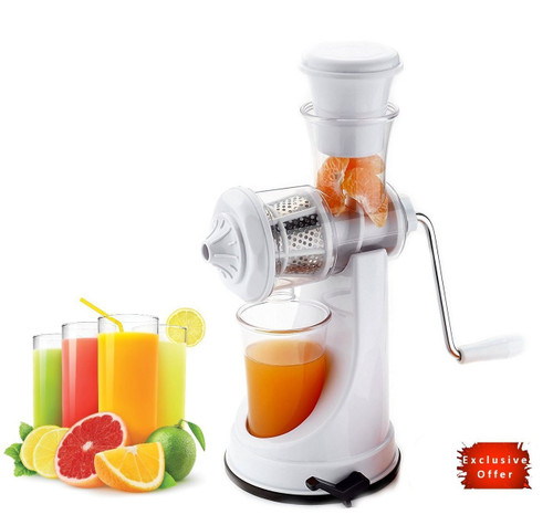 High Quality Hand Juicer Fruit Juicer Unbreakable ABS Plastic Body