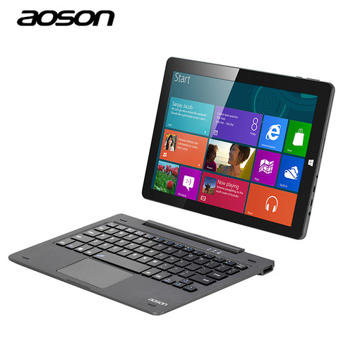 10.1 inch Portable Laptop Windows 10 Tablet PC Quad Core 64GB/4GB Aoson R105 Cherry Trail Z8300 1280*800 With Keyboard GPS HDMI