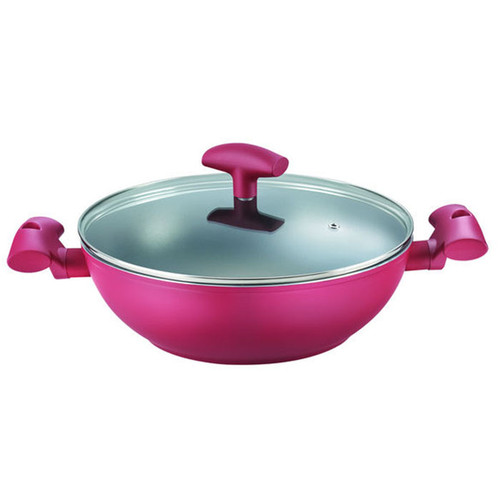Prestige Dura PlPrestige Dura Plus Kadai With Lid (280mm) (PRESTIGE-36110)us Kadai With Lid (280mm)
