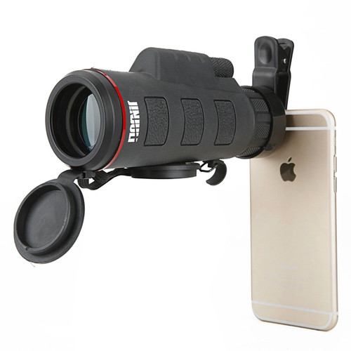 35X50 Monocular Telescope Low Light Night Vision Binoculars Wide Angle Pocket-size for Hunting Watching with telephone clip