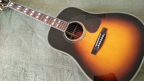New acoustic guitar J45 Guitar Acoustic Top AAA Solid Spruce Body Guitar with pickups