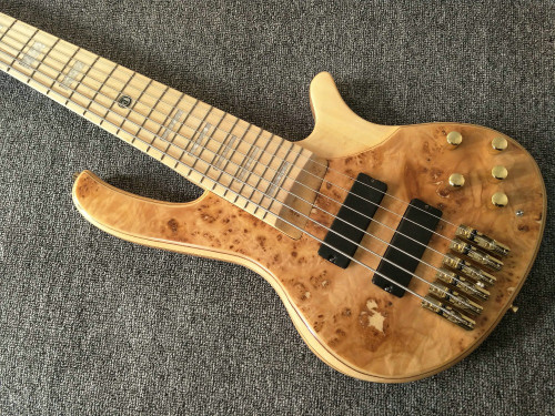 6 Strings Electric Bass Guitar Maple Body Active pickups Bass Guitar Music instruments