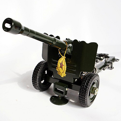 Vintage Metal Cannon Lighter Creative Cigarette Lighter Crafts Home Furnishings Decoration