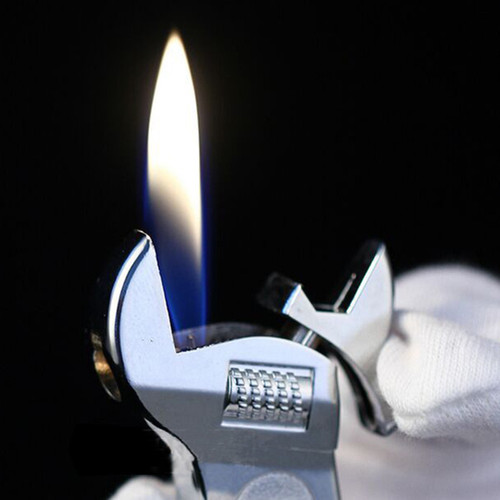Portable Mini Pliers Shape Lighter Kerosene Oil Gas Spanner Lighters Funny Tools Butane Gas Lighter Gadgets for Men