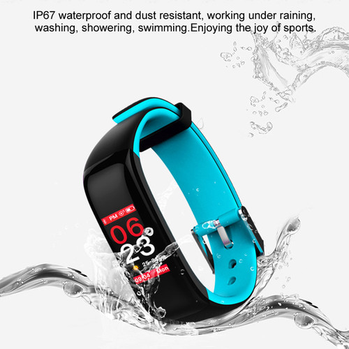 Torntisc P1 plus Heart Rate Smart band IP67 Waterproof Blood Pressure Fitness Tracker Smart Bracelet Color display Wristband