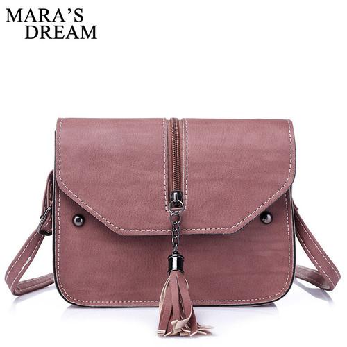 Mara's Drea Brand 2018 New Vintage Casual PU Leather Women Handbags Ladies Small Shopping Bag Shoulder Messenger Crossbody Bags
