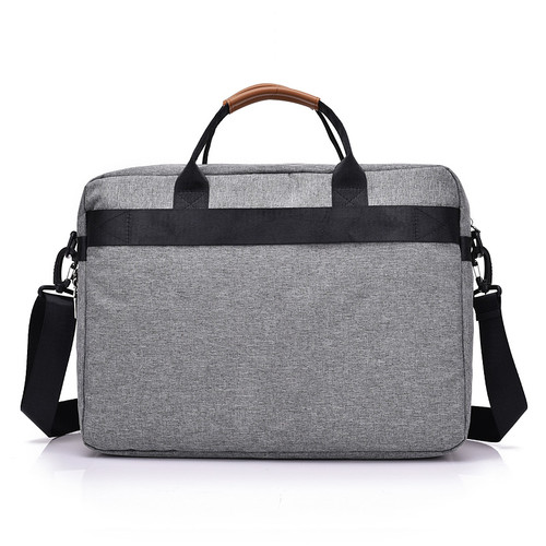 New Men Messenger Bags Male Polyester Men Bag Briefcase Big Capacity Men's Shoulder Laptop Bag Crossbody Bags Handbags Tote Grey