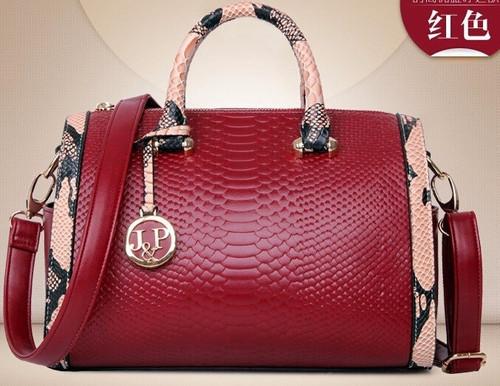2018 New Crocodile Pattern PU leather women handbags,Vintage Women's shoulder bag cross-body messenger bags