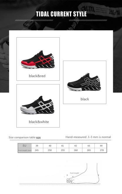 2018 spring new men's wild sports casual breathable mesh shoes students Korean running shoes men's shoes tide shoes