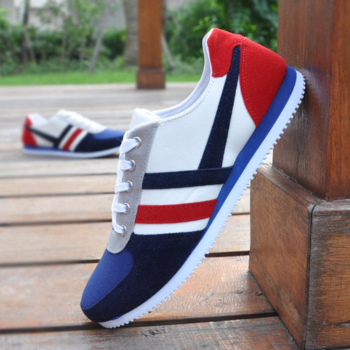 Fashionable Men's Sports Shoes Canvas Casual Shoes