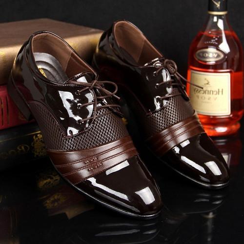 Fashion New Arrivel British Men's Comfortable Business Shoes Fashion Dress Shoes (ee1332c2)