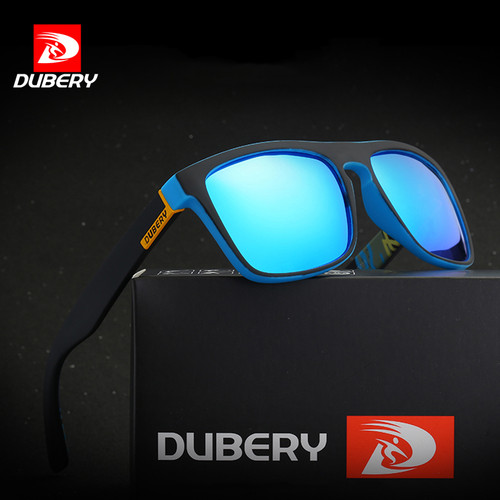 DUBERY Polarized Sunglasses Men's Aviation Driving Shades Male Sun Glasses For Men 2017 Luxury Brand Designer UV400