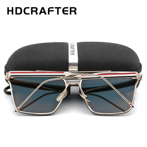 Hot Sell HDCRAFTER Unisex Fashion Sunglasses Big Frame Outdoor UV400 Sun Glasses for Driving
