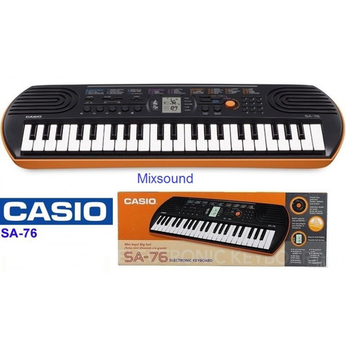 Casio SA-76 Digital Portable Keyboard 44 Keys with adapter