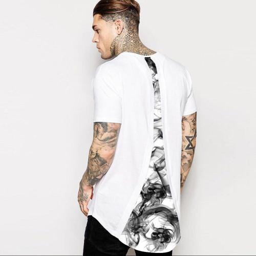 Echoinne 2018 Summer Casual Printed 3D T-shirt Men Cool Printed Size M-2XL White T Shirt Mens Fashion men T Shirts Casual brand