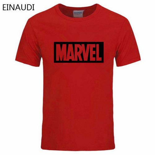 EINAUDI 2018 Summer New Fashion Brand Clothing Tshirt Men MARVEL Print Short Sleeve T Shirt Men Top quality Casual T-Shirts