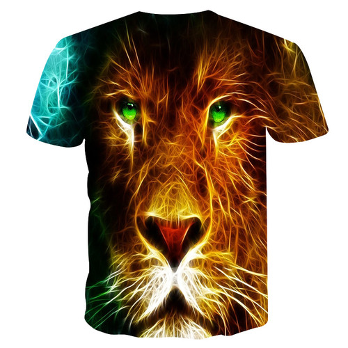 BIANYILONG 2018 new Wolf T-shirt For Men/Women Summer Tees Quick Dry Men/women 3d Tshirts Tops Fashion