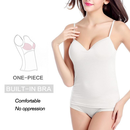 2016 new summer Adjustable Strap Built In Bra tank tops women sexy strappy bralet sleeveless tank tops QS