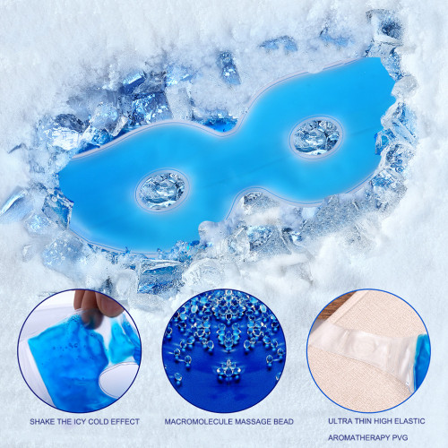 Ice Eye Gel Beauty Sleeping Eye Mask Reduce Dark Circles Relieve Fatigue Lessen Eyestrain  1 Pieces eye gel Patches mask