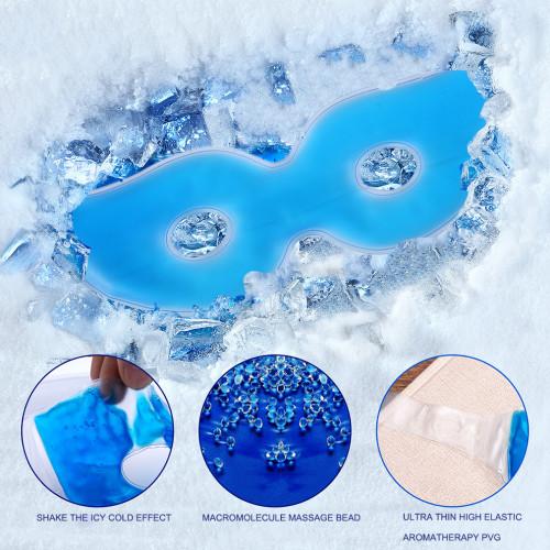Multifunctional Ice Eyeshade Sleeping Eye Mask Reduce Dark Circles Relieve Fatigue Lessen Eyestrain Eye Cover Eye Masks Gel