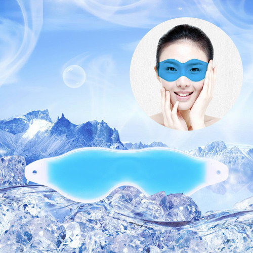 Sleep Mask Summer Ice Goggles Relieve Eye Fatigue REmove Dark Circles Eye Gel Cool Headache Relief Eye Gel Hot Selling