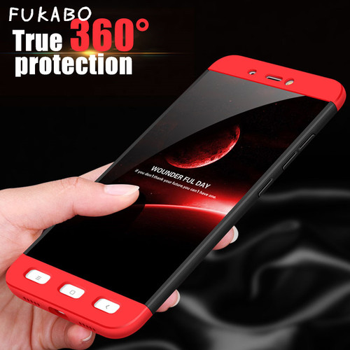 360 degrees Full Cover Case For Xiaomi Redmi Note 4X Note 4 Global version hard Back PC Cover For Redmi Note 4 Pro Note 4x Cases