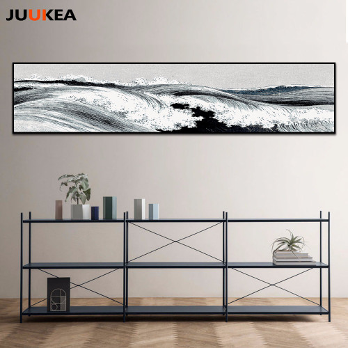 Huge Size Canvas Print Painting, Classic Asia Chinese Ink painting Landscapes Large Size Wall Picture For Living Room Home Decor