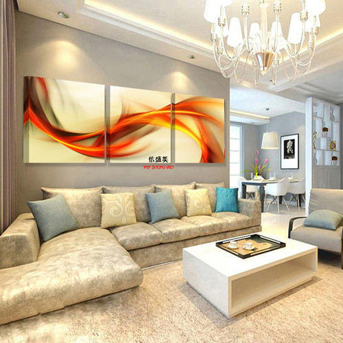 3 Piece Canvas Oil Painting Abstract Paintings Cuadros Decoracion Modular Picture HD Print Wall Pictures For Living Room K307X