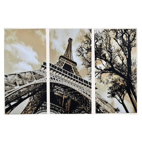 3Pcs/Set Modern Picture Canvas Painting Wall Pictures For Living Room  Decoration Paris City Eiffel Tower No Frame Modular