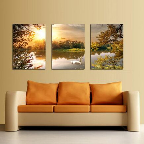 AtFipan L-30 Pcs picture large canvas painting for bedroom living room home wall art decor