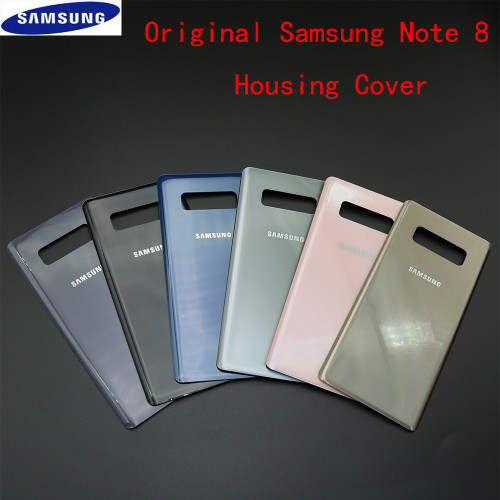 Original For Samsung Galaxy Note 8 N9500 N950F Back Battery Cover Rear Panel Housing Case + Adhesive Sticker
