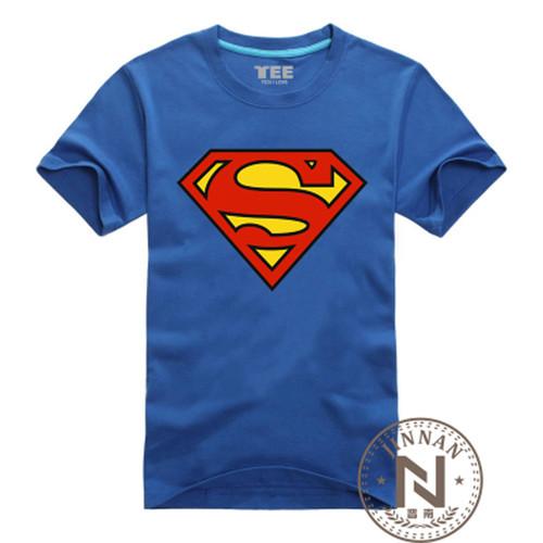 Comic Super Hero T Shirt Superman Batman Captain America the Flash Cartoon Movie Men Boy Cosplay T-Shirts Tshirt Geek Tee