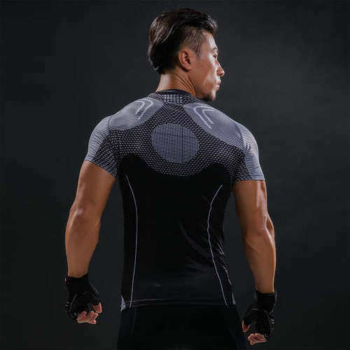 Iron Man Hottoys T Shirt Captain America 3D Printed T-shirts Men Avengers Fitness Male Quick Dry Bodybuilding Crossfit Tops