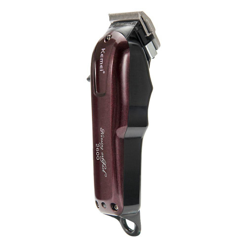Kemei Rechargeable Electric Haircut Machine For Man Professional Waterproof Hair Clipper Cordless Electric Hair Trimmer KM-2600