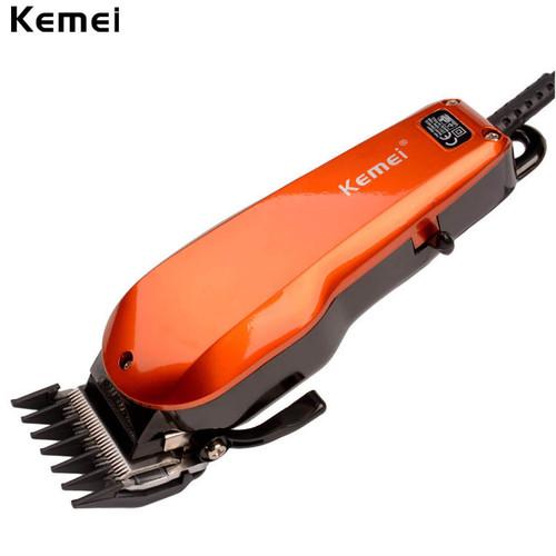 KEMEI Strong Power Electric Hair Trimmer Barber Razor Metal Haircut Kit Strainless Steel Blade Hair Clipper Hair Cutting Machine